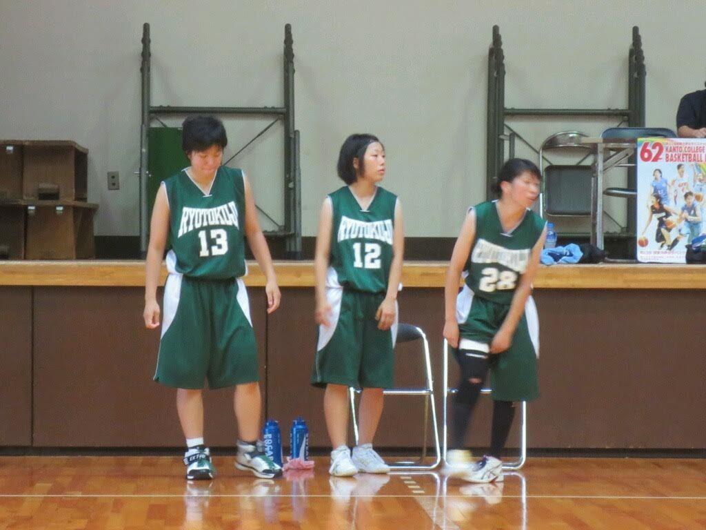 大学バスケ現役時代の写真