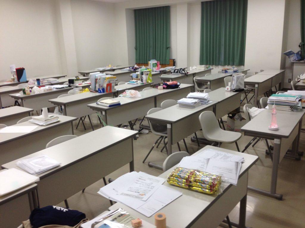 大学の自習室